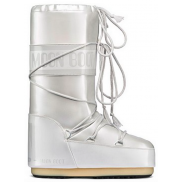 Moon Boot Vinyl Met White