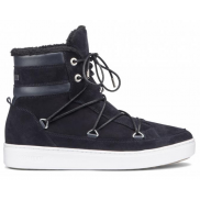 Moon Boot Mercury Suede Paris Blue Navy