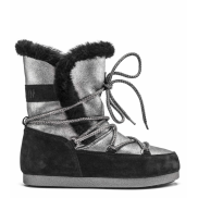 MB Far Side High Shearling Silver Black
