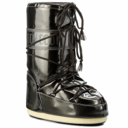 Moon Boot Vinyl Met Black Kids